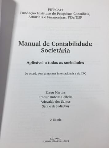 FIPECAF-manual de contabilidade societária - Foto 3