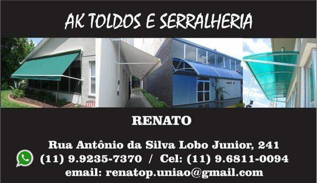 AK Toldos e Serralheria - Foto 2