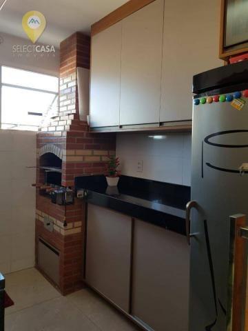 Excelente apartamento em bairro de fátima/jardim camburi 3 quartos - Foto 8