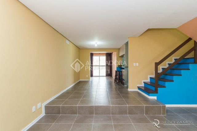 Casa de condomínio para alugar com 3 dormitórios em Pedra redonda, Porto alegre cod:301057