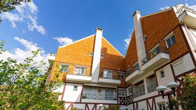 Apartamento à venda com 3 dormitórios em Capivari, Campos do jordão cod:55823 - Foto 3