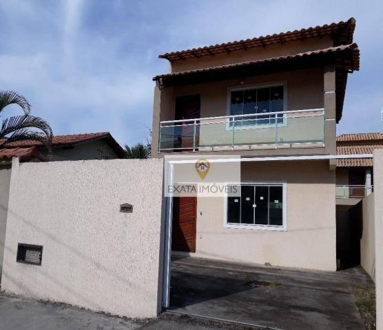 Casa duplex 02 quartos, jardim mariléa, rio das ostras. - Foto 2