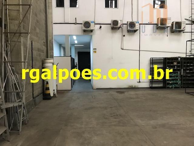 Galpão 650m², 5 salas, 6 banheiros, elevador industrial e recepção - Foto 7