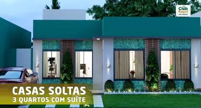Casa 3 quartos c/ suite no Candeias