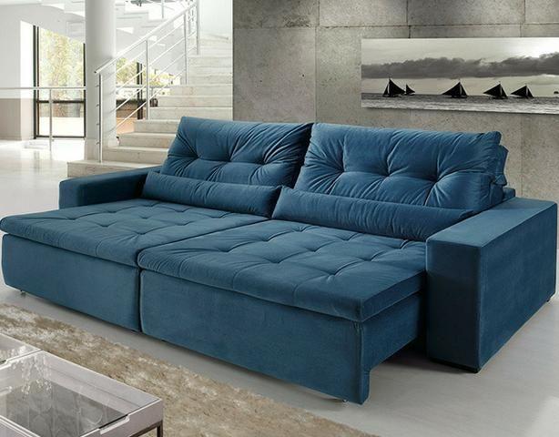 Tok Shik Estofados, sofa, poltrona, cadeira decorativa, divã, cama box, colchões ortobom - Foto 5