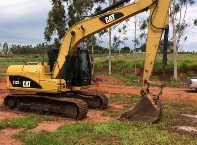 Escavadeira Hidráulica Cat 312 dl ( Parcelada) - Foto 3