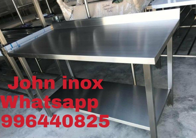Mesa inox 110x60