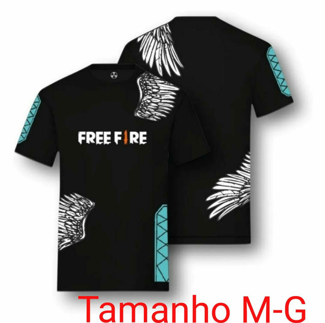 Camisa angelical Free fire - Foto 2