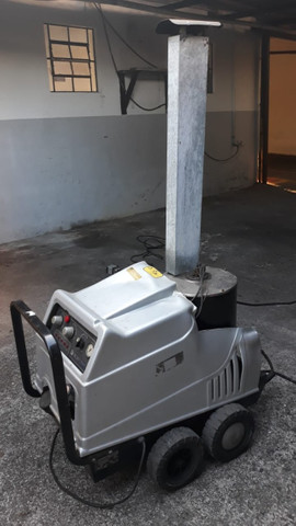 Lavadora a vapor