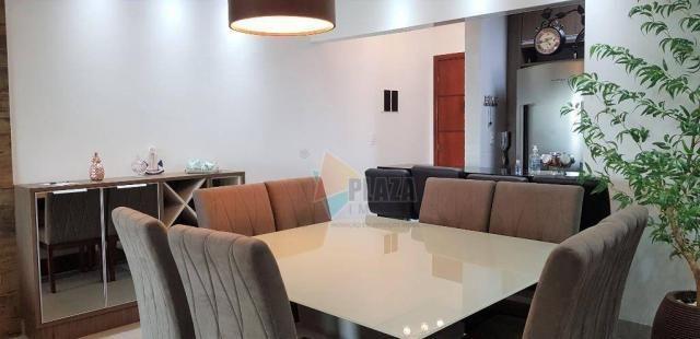 Apartamento com 2 dormitórios para alugar, 76 m² por R$ 3.000,00/mês - Tupi - Praia Grande - Foto 11