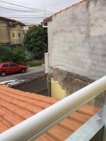 Sobrado com 3 dormitórios para alugar, 159 m² por R$ 3.000/mês - Serpa - Caieiras/SP - Foto 10