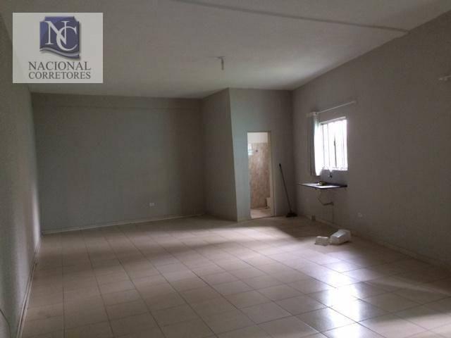 Kitnet com 1 dormitório para alugar, 50 m² por R$ 800,00/mês - Bangu - Santo André/SP
