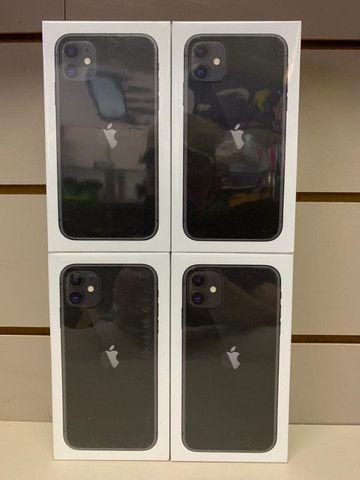 Iphone 11 128gb preto novo lacrado - Foto 2