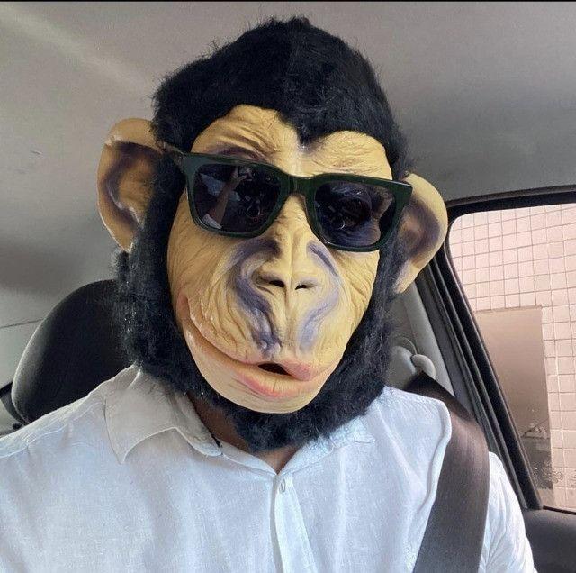Máscara de Macaco Mascarasbrasil - Foto 5