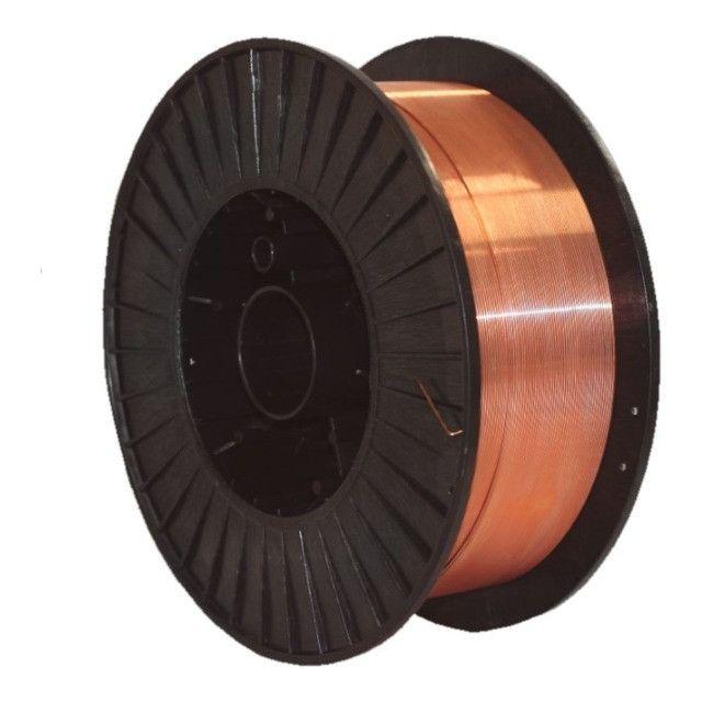Arame MIG 1,2 mm, carretel com 15 kg