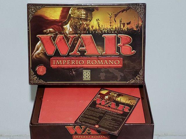 Jogo WAR IMPÉRIO ROMANO