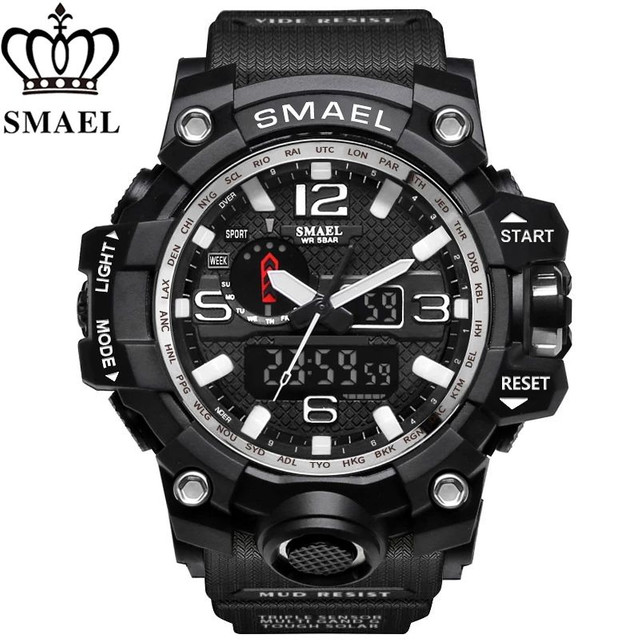 Relógios Smael militar - Foto 4