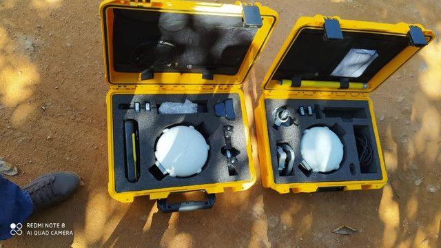 Kit Completo GPS X91 | Receptor GNSS | Coletora HCE 300 | Tripé/Base + Acessórios - Foto 2