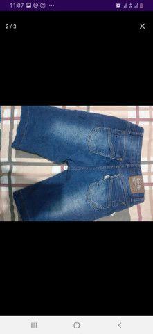 Bermuda jeans juvenil  - Foto 3