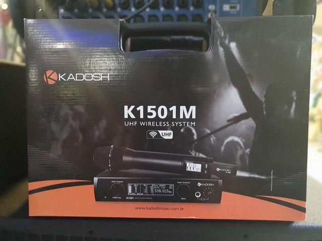 Microfone Kadosh K-1501M - Foto 2