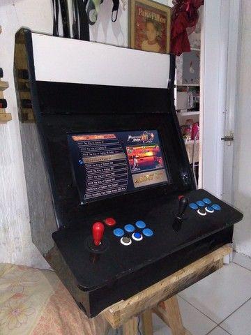 Fliperama Black  3188 jogos - Foto 2