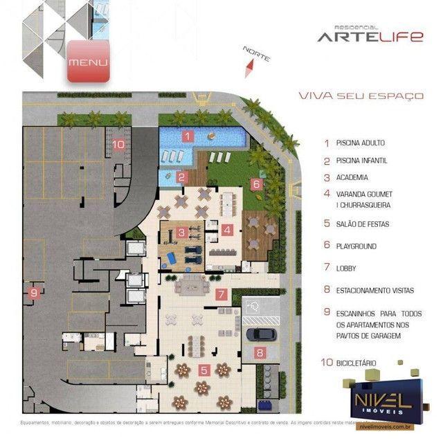 Apartamento com 3 dormitórios à venda, 90 m² por R$ 506.530 - Setor Leste Universitário -  - Foto 11