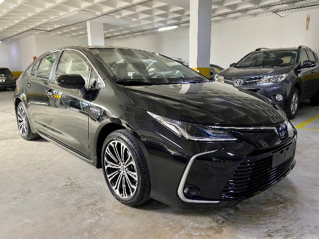 Toyota Corolla Altis Hybrid Blindado Teto Solar Okm Pronta Entrega - Foto 2