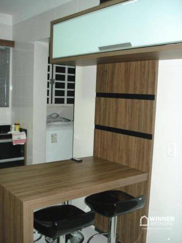 Lindo apartamento mobiliado à venda no novo centro de Cianorte! - Foto 10