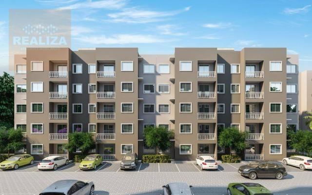 Apartamento com 2 dormitórios à venda, 49 m² no Eusébio. - Foto 5
