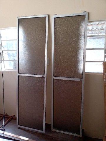 Quadros alumínio de box de banheiro - Foto 4