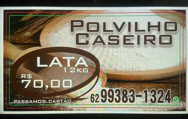 Polvilho caseiro WhatsApp * - Foto 3