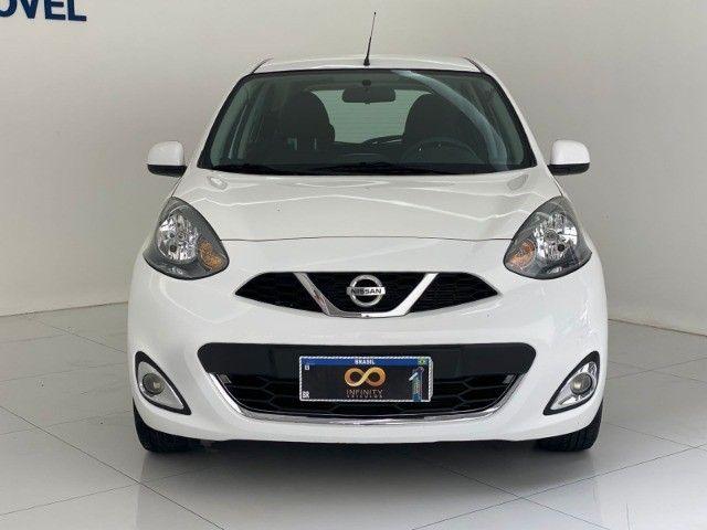 Nissan march SL 2017 1.6 único dono extra! revisado com garantia!