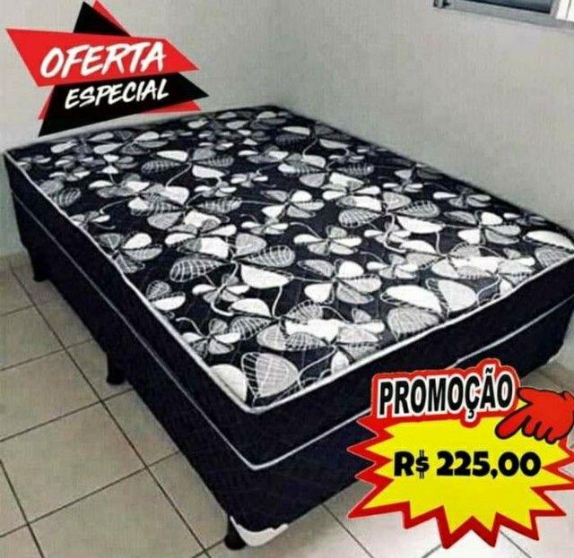 CAMA BOX CASAL LOJA DA FÁBRICA $225