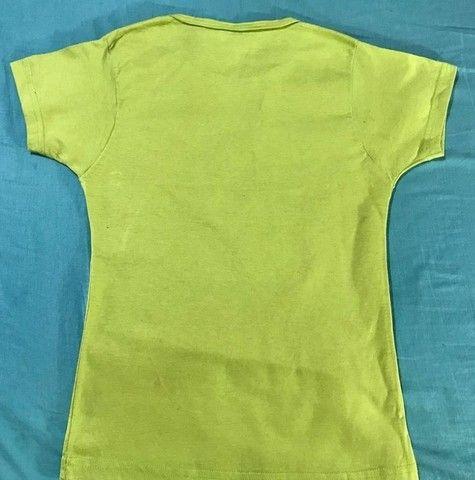 blusa de malha feminina com estampa do smilinguidos - Foto 2