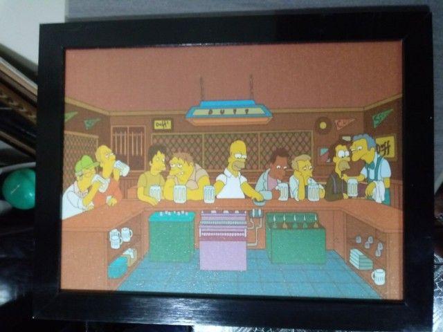 Quadro Os Simpsons - Faço Envio. - Foto 2