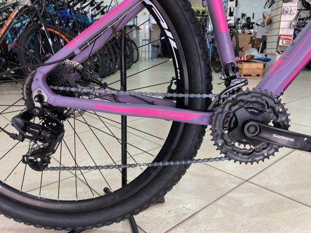Bicicleta Elleven Luna 24v Shimano - Foto 4