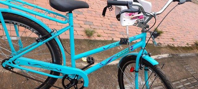 Vendo essa bicicleta   novinha  - Foto 2