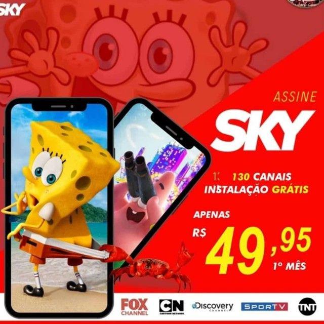 Sky grátis  - Foto 3