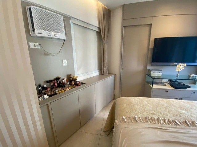Edf Via Tazolli Setubal/129m/3 suites/capa de revista/luxo/3 vagas/lazer. - Foto 13
