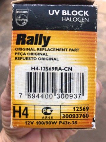 Lâmpada de 100 watts Philips rally - Foto 2