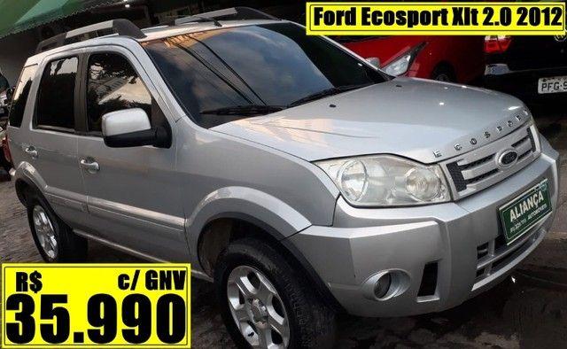 Ford Ecosport Xlt 2.0 2012 c/ GNV Automático