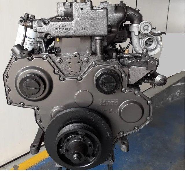 Motor Mwm X10, Série 10, 04 Cil T Int F1000 Caminhão Retro Trator