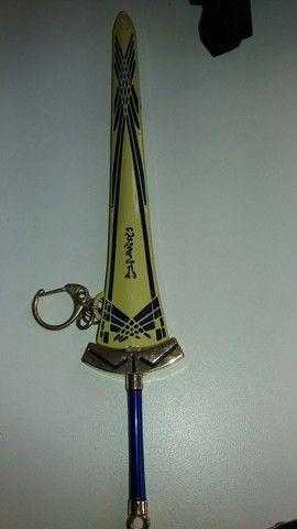 pingente espada cheveiro..22 cm - Foto 4