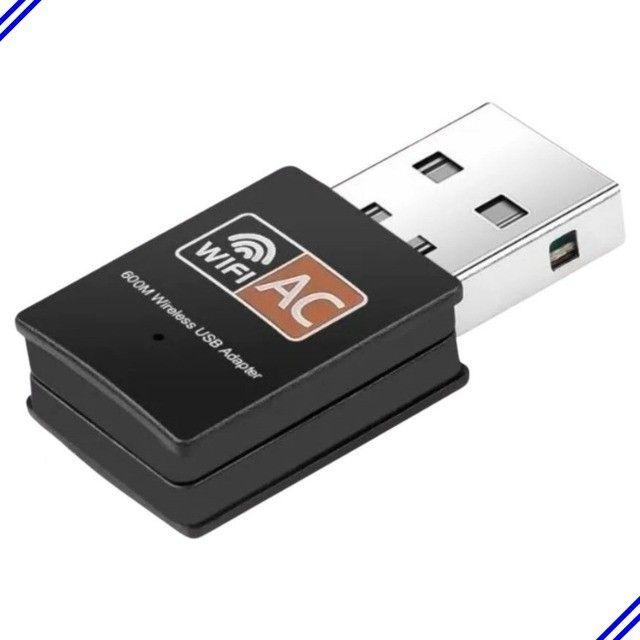 Receptor Wireless Usb Wifi 5ghz Dual Band 600mbps - Foto 2
