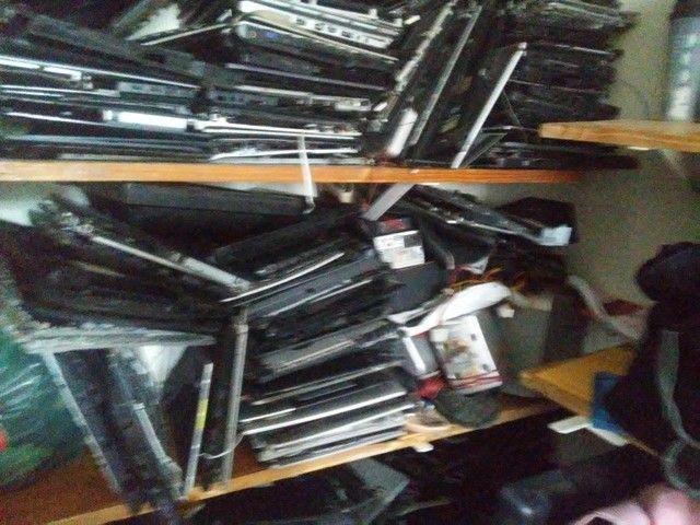Carcaça de notebook e varias peças de notebook - Foto 4