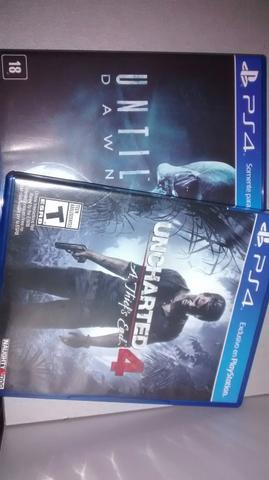 Uncharted 4 e until dawn 130$