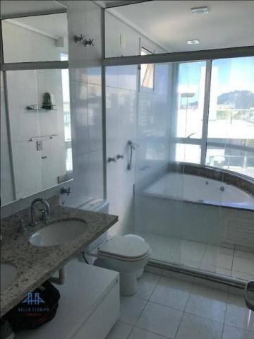 Amplo apartamento mobiliado no joão paulo com linda vista para o mar, 3 suítes, sacada e 3 - Foto 16