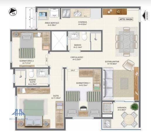 Apartamento residencial à venda, campeche, florianópolis. - Foto 6