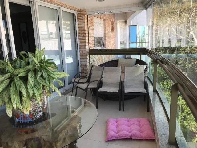 Amplo apartamento mobiliado no joão paulo com linda vista para o mar, 3 suítes, sacada e 3 - Foto 2