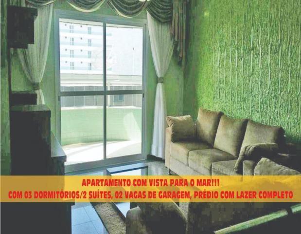 Apartamento para alugar, 141 m² por r$ 3.500,00/mês - canto do forte - praia grande/sp